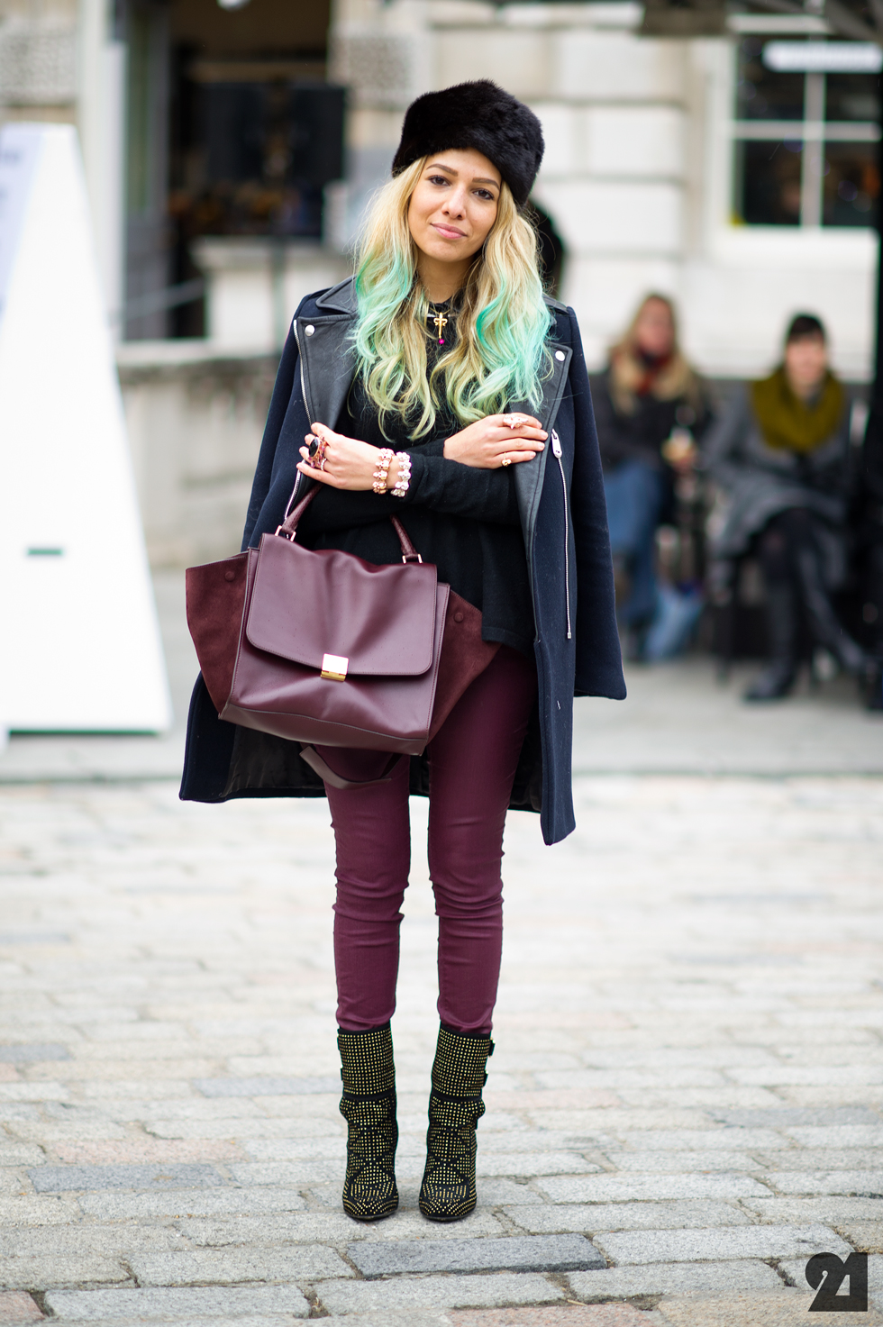Street style hats Girl fashion style london