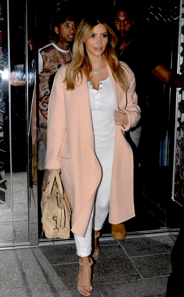 Pink coats easily become the statement piece of any outfit and are a