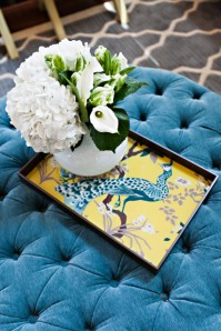 turquoise-tufted-ottoman