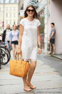 lace dresses and tunics street style seconds fashion 2