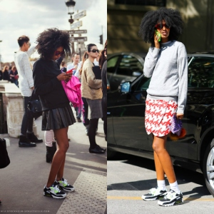 Julia Sarr Jamois nike air max streetstyle+trend nike air max 2013+inspiration nike air max outfits